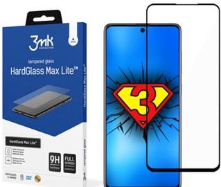 Защитная пленка на экран 3MK Samsung Galaxy S21 Plus Black HG Max FP, 9h