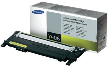 Lazerinio spausdintuvo kasetė Samsung CLT-Y406S YELLOW