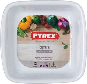 Pyrex Supreme Ceramic Square Roaster 24x24cm