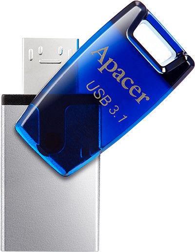 USB atmintinė Apacer AH179 OTG Series, USB 3.1, 32 GB