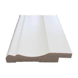 Grindjuostė, balta, 15 x 90 x 2700 mm