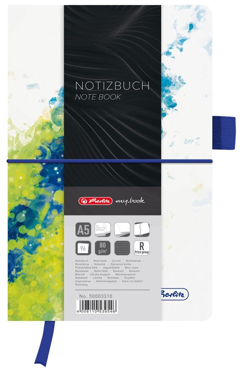 Herlitz Notebook Fashion A5 Splash Lemon