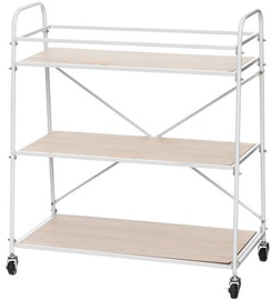 Verners 4Living Shelf on Wheels 640x660x300mm Wood