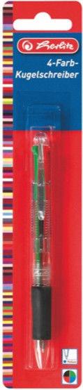 Herlitz Ballpoint Pen Transparent 10199669