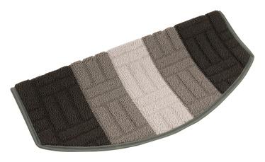 Paklājs pakāpieniem MIA 29x57cm pelēks