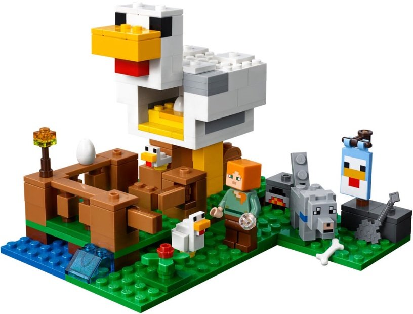 Konstruktorius LEGO Minecraft The Chicken Coop 21140