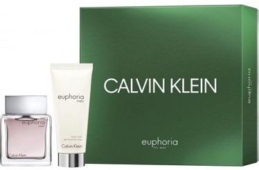 Calvin Klein Euphoria 50ml EDT + 100ml Shower Gel New Design
