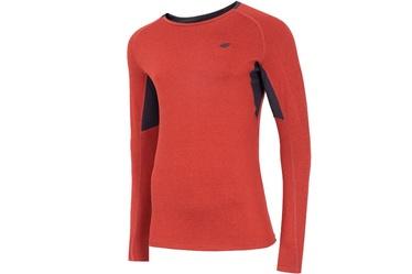 Футболка с длинными рукавами 4F Men's Functional Long Sleeve Top Red S NOSH4-TSMLF002-62M