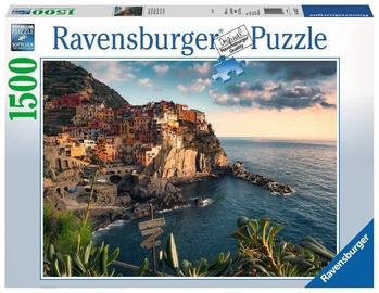 Puzle Ravensburger Cinque Terre Viewpoint 16227, 1500 gab.