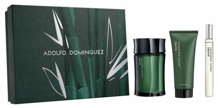 Набор для мужчин Adolfo Dominguez Bambu 120 ml EDT + 75 ml Shower Gel + 20 ml EDT