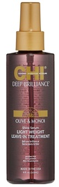 Farouk Systems CHI Deep Brilliance Olive&Monoi Shine Serum Light Weight Leave-In Treatment 177ml