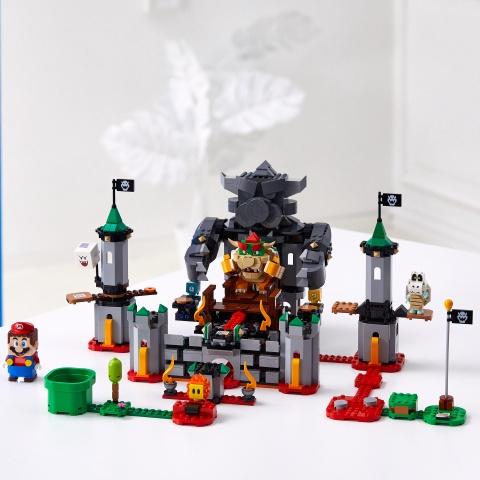 Конструктор LEGO Super Mario Bowsers Castle Boss Battle Expansion Set 71369 71369, 1010 шт.