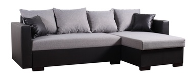 Platan Karol 02 Corner Sofa Grey/Black