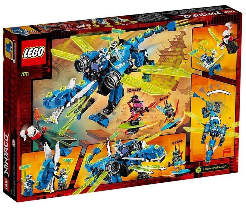 Konstruktorius LEGO Ninjago Jays Cyber Dragon 71711