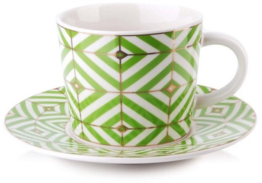 Mondex Zoe Cup And Saucer 240ml HTPS8662