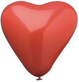 Širdies formos balionai, 19cm, 4 vnt.