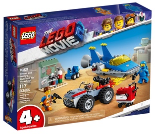 Konstruktorius LEGO The Movie Emmet And Benny's 'Build And Fix' Workshop 70821