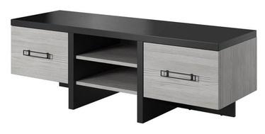 TV-laud Idzczak Meble Olen Black Pine/Grey, 1200x500x450 mm