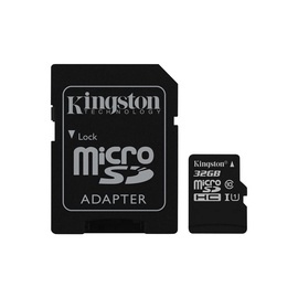 Atminties kortelė Kingston Microsd C10 SDCS/32GB