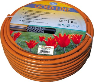 Bradas Gold Line Garden Hose Orange 1/2'' 50m