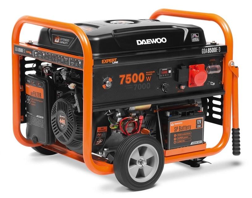 Генератор Daewoo GDA 8500E-3, 7000 Вт