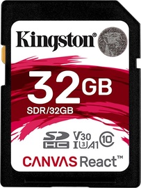 Kingston Canvas React SD 32GB