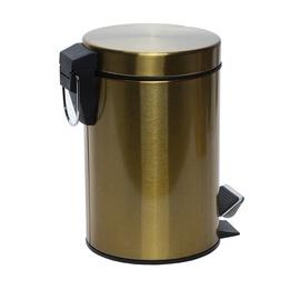 Atkritumu tvertne ar vāku Gedy Argenta, 3 l