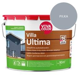 Dažai lauko medienai Villa Ultima, šviesiai pilki, 9L