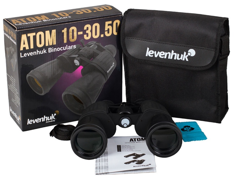 Levenhuk Atom Binoculars 10-30x50