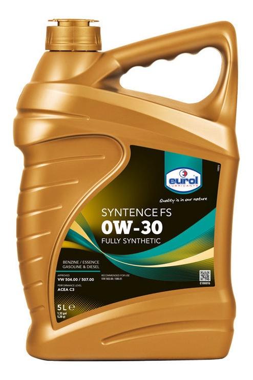Eurol Syntence FS 0W30 Motor Oil 5l