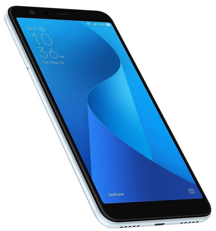 Asus ZenFone MAX Plus ZB570TL 32GB Dual Azure Silver