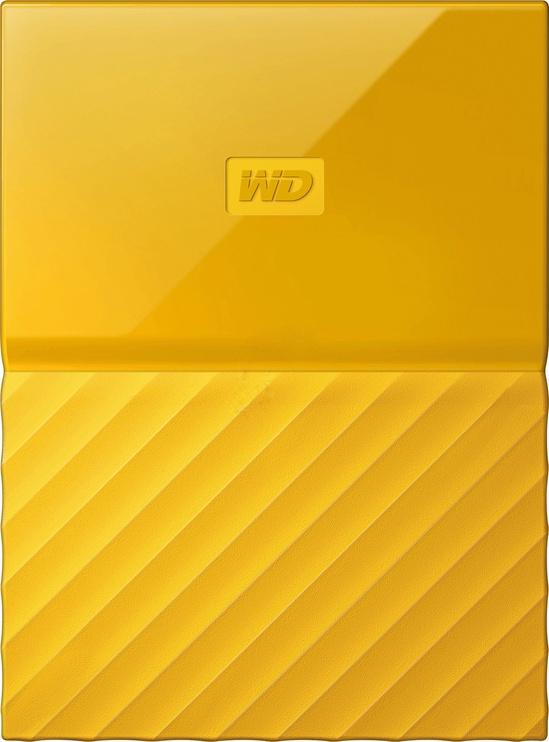 Western Digital 1TB My Passport USB 3.0 Yellow WDBYNN0010BYL-WESN