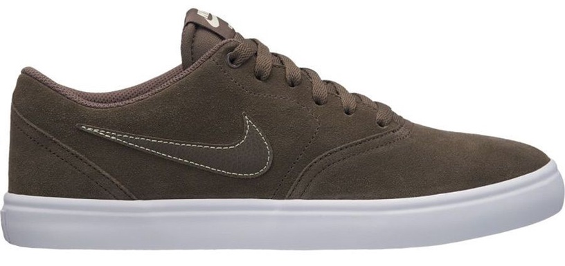 Nike Shoes SB Check Solarsoft Canvas 843895-201 Brown 40