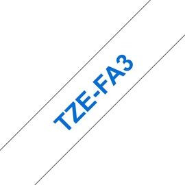 Этикет-лента для принтеров Brother TZe-FA3, 300 см