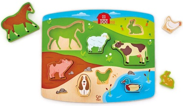 Koka puzle Hape Farm Animal E1454A