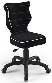 Детский стул Entelo Petit Size 3 JS01, черный, 300 мм x 775 мм