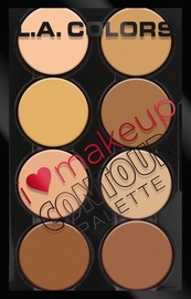 L.A. Colors I Heart Makeup Contour Palette 29g C30353