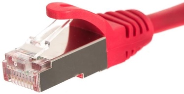 Netrack CAT 5e FTP/STP Patch Cable Red 1m