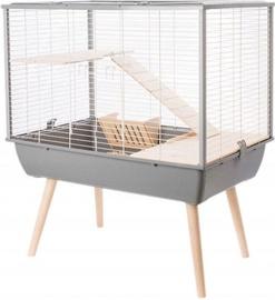 Zolux Neo Muki Rodents Cage Grey