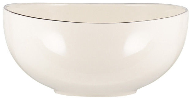 Quality Ceramic Sense Bowl Platinum 20cm