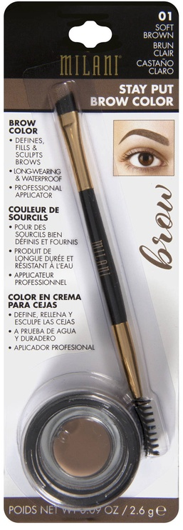 Milani Stay Put Brow Color 2.6g 01