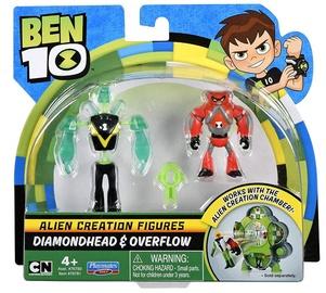 Žaislinė figūrėlė Playmates Toys Ben 10 Alien Creation Diamondhead & Overflow 76781