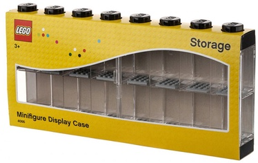 LEGO Minifigure Display Case For 16 Minifigures Black 40660003