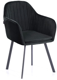 Homede Trento Chairs 2pcs Black