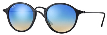 Ray-Ban Round Fleck Flash Lenses Gradient RB2447 901/4O 49