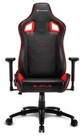 Sharkoon Elbrus 2 Gaming Chair Black Red