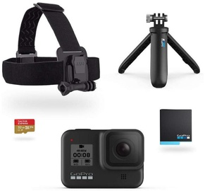 Seikluskaamera Gopro Hero 8 Black Holiday Bundle 2019