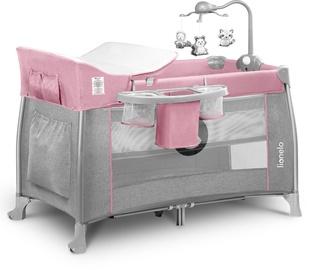 Детская кроватка Lionelo Thomi 2in1 Baby Pink