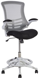 Home4you Office High Working Chair Tribecca Black
