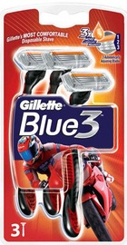 Skustuvas Gillette Blue III Speed Disposable Razors 3pcs